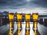 do piwa szklanki